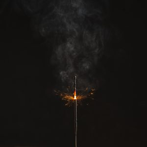 Firework Burning