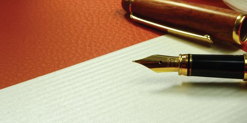 Fountain Pen + Paper